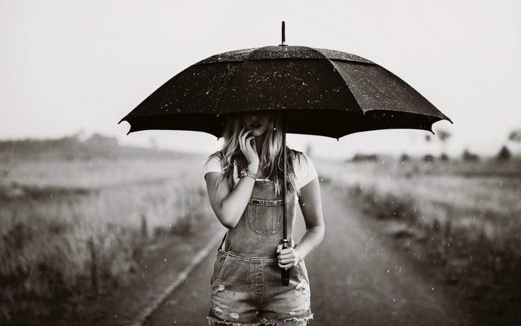 Этикет и зонт